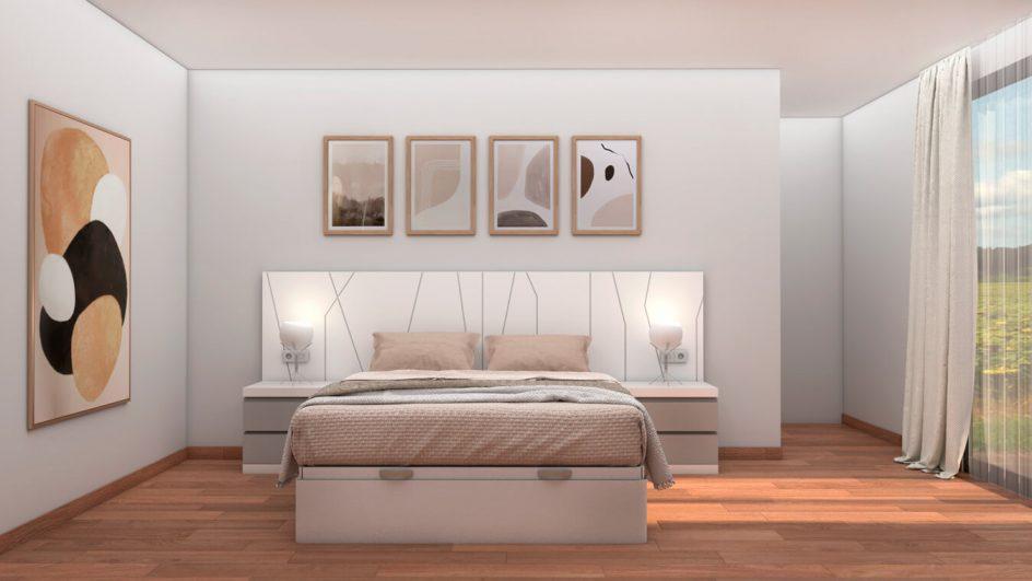 Dormitorio modelo YAKI - Ref: 0495
