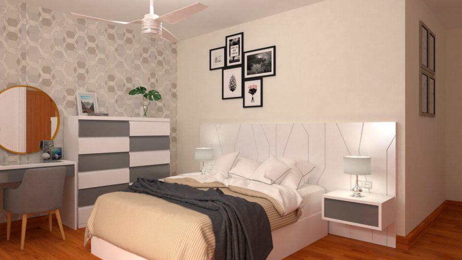 Dormitorio modelo YAKI - Ref: 0494