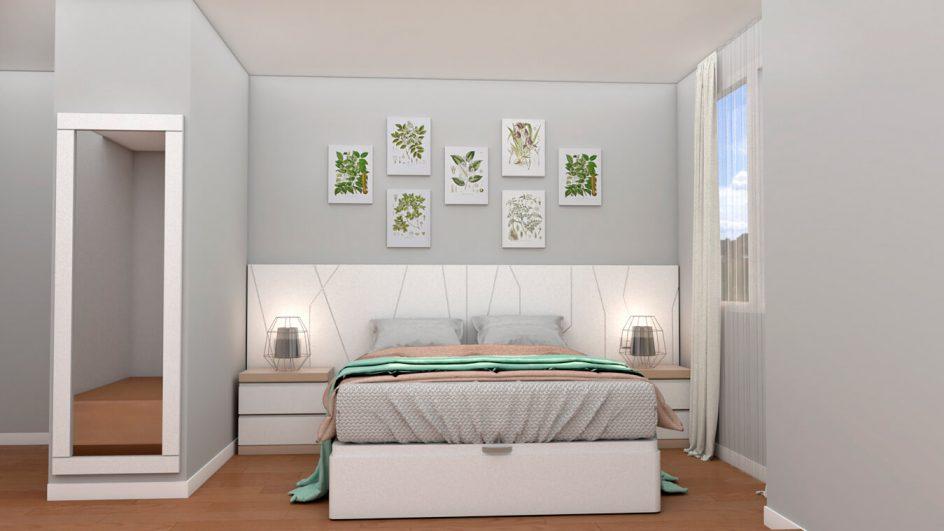 Dormitorio modelo YAKI - Ref: 0492