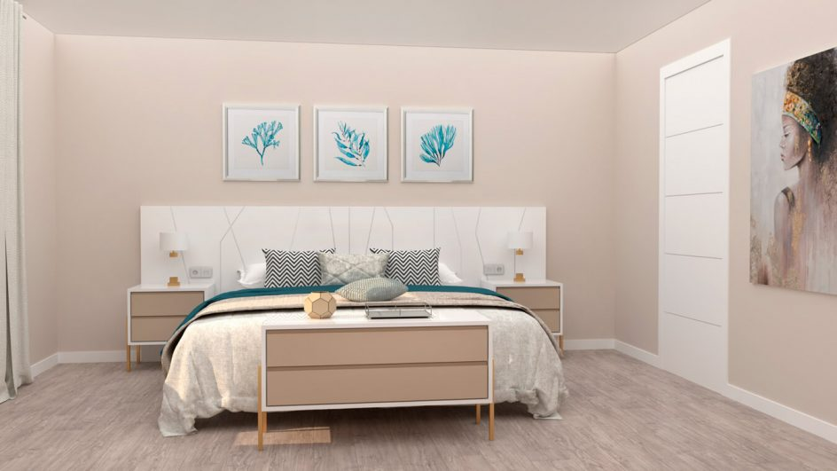 Dormitorio modelo YAKI - Ref: 00027