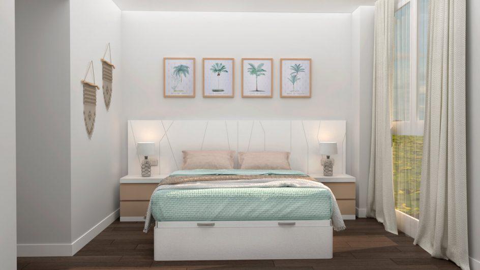 Dormitorio modelo YAKI - Ref: 0498