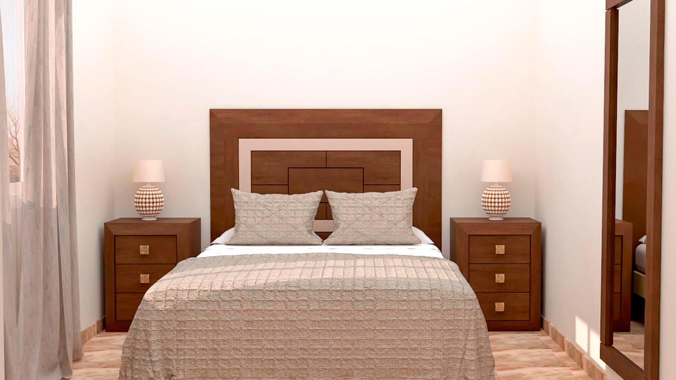 Dormitorio modelo BRUNO - Ref: 0001