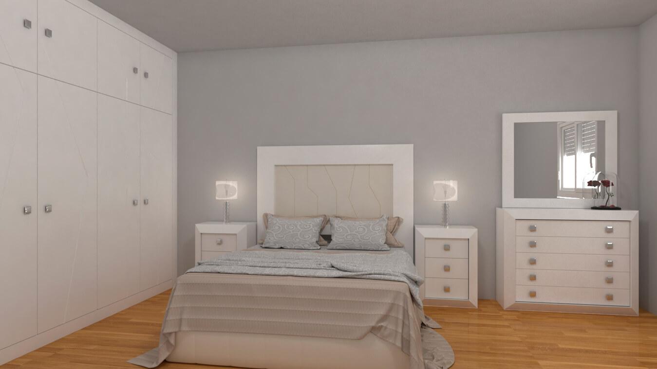 Dormitorio modelo BRUNO - Ref: 0010