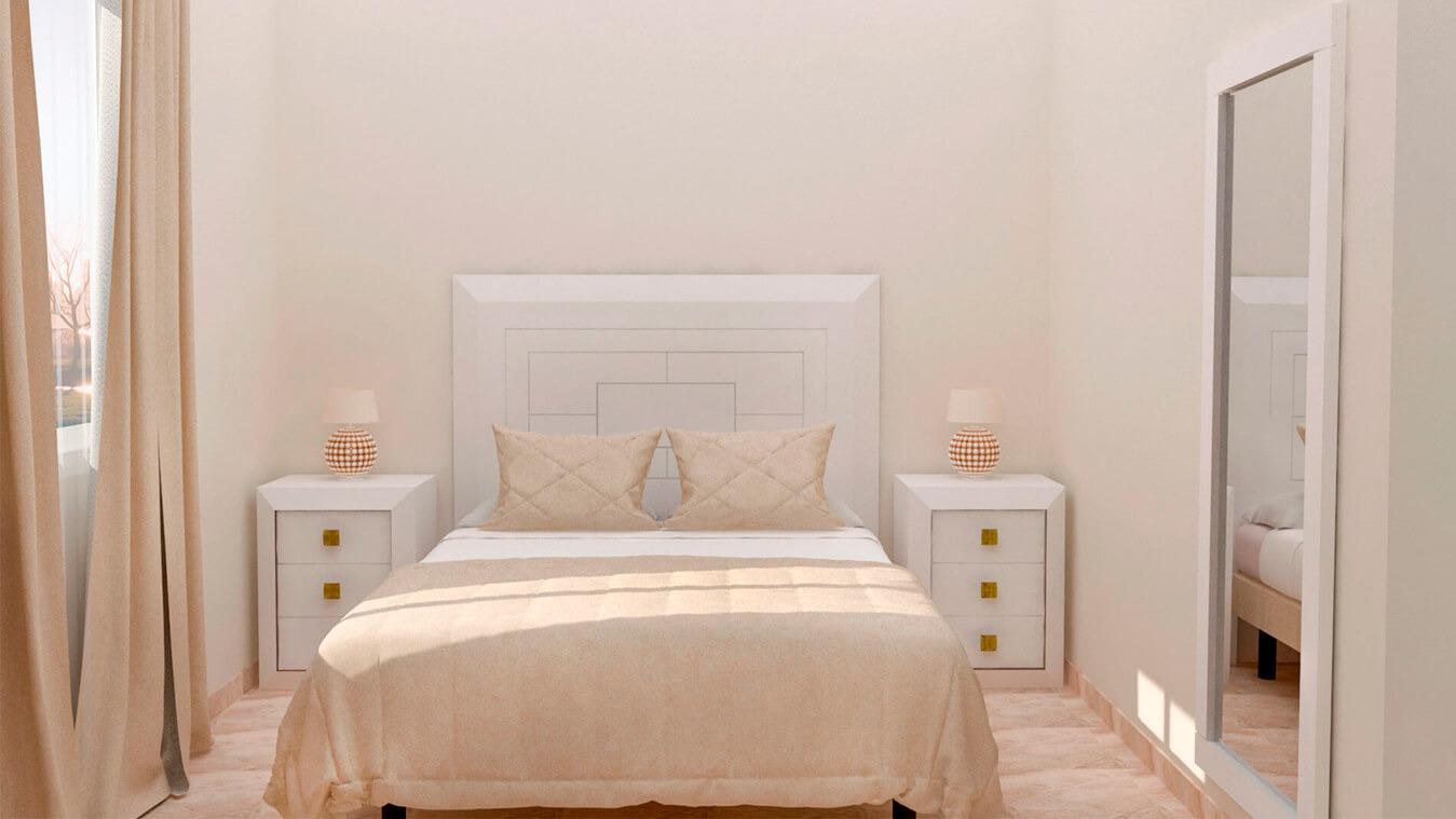 Dormitorio modelo BRUNO - Ref: 0005