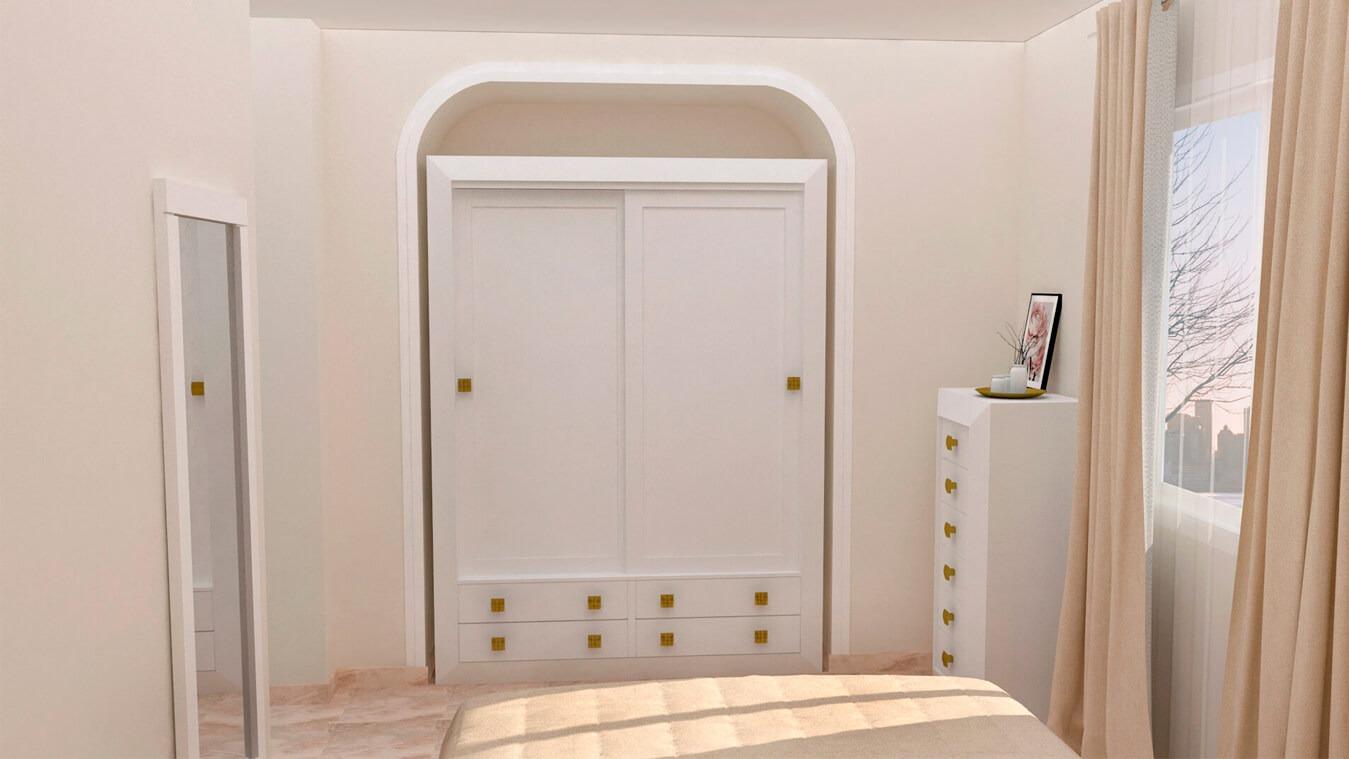 Dormitorio modelo BRUNO - Ref: 0007