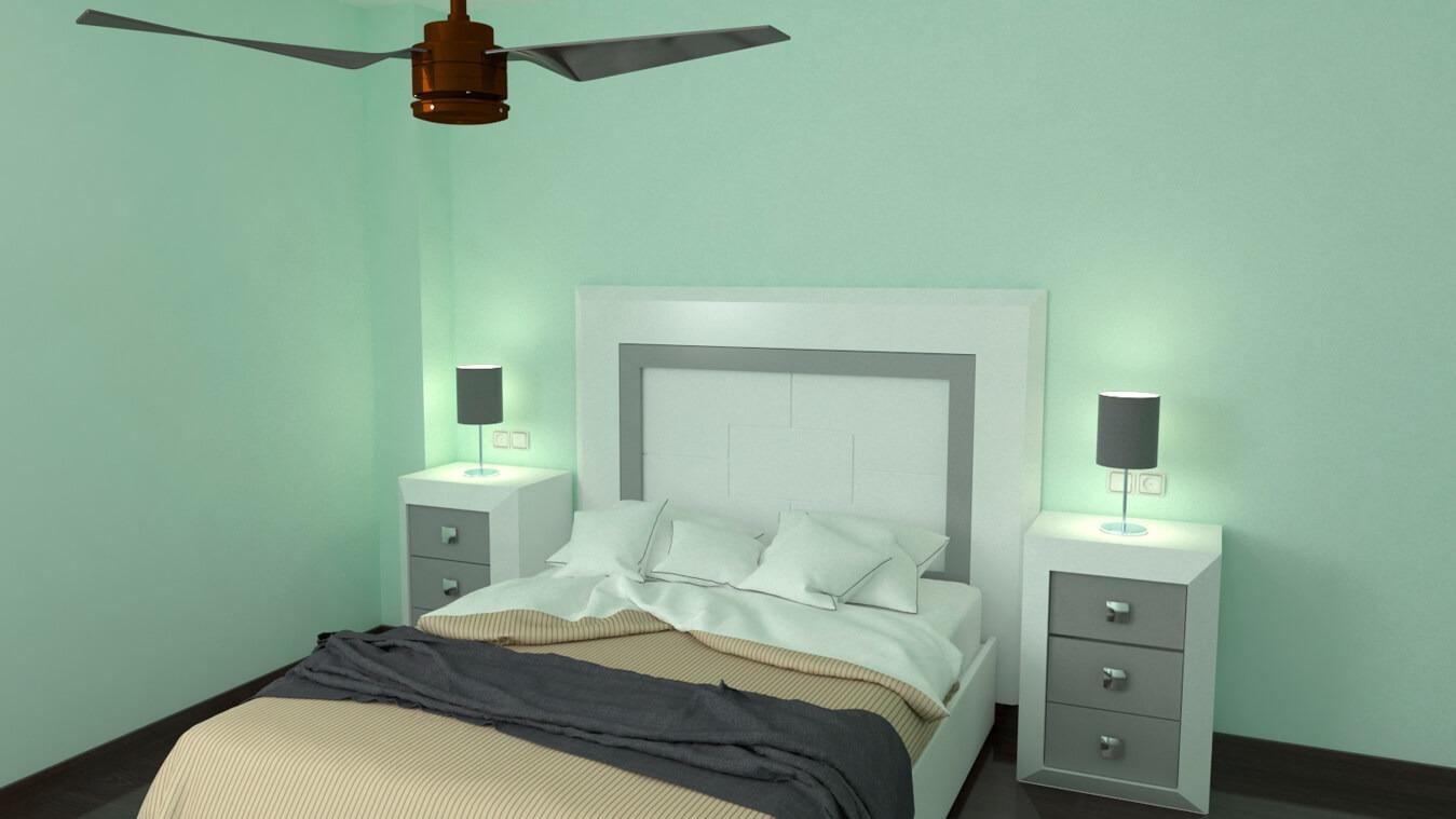 Dormitorio modelo BRUNO - Ref: 0008