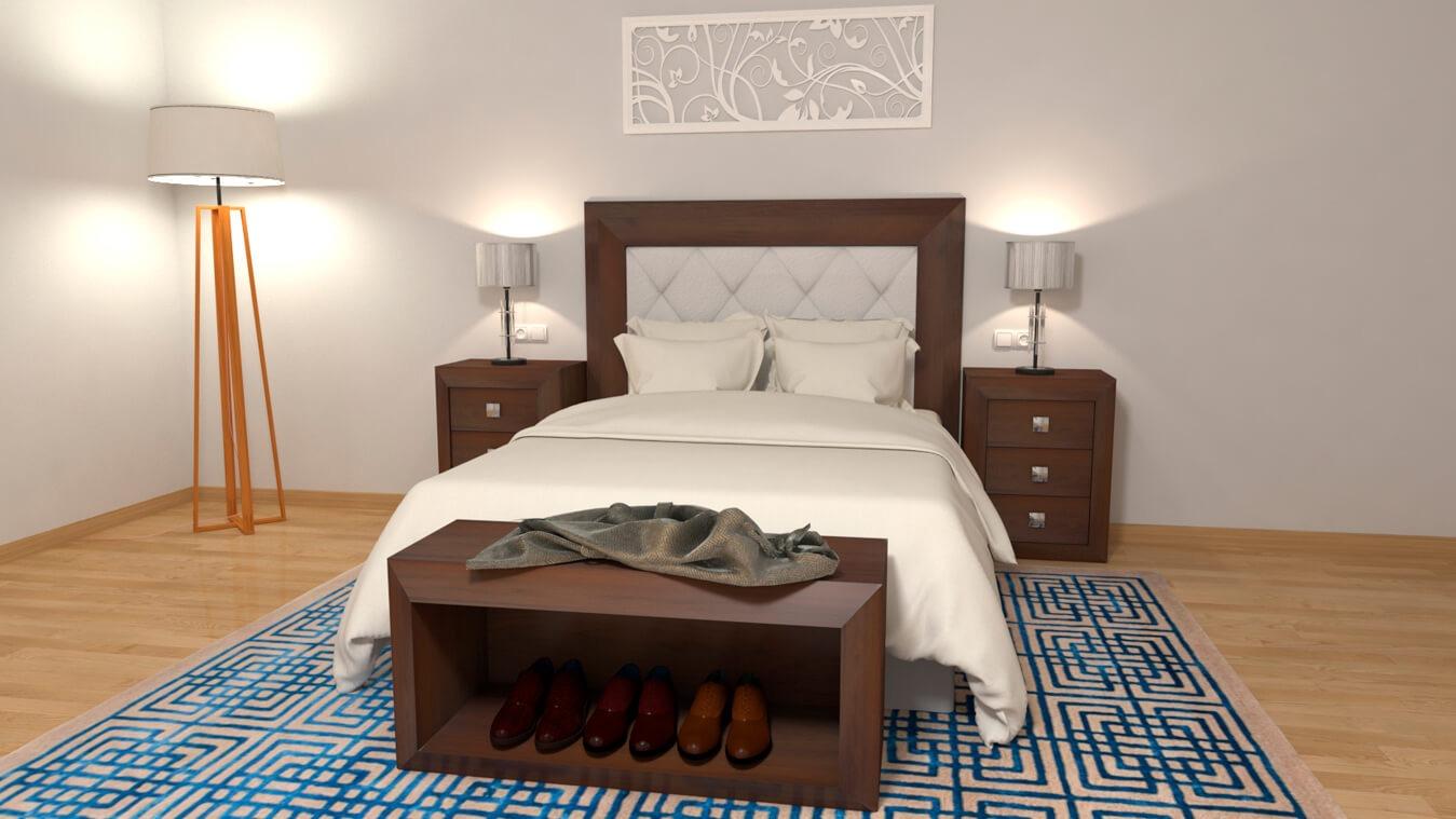 Dormitorio modelo BRUNO - Ref: 0009