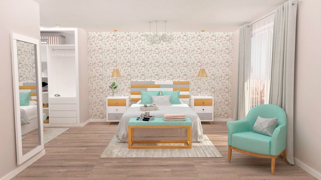Dormitorio modelo ALVASON - Ref: 0004