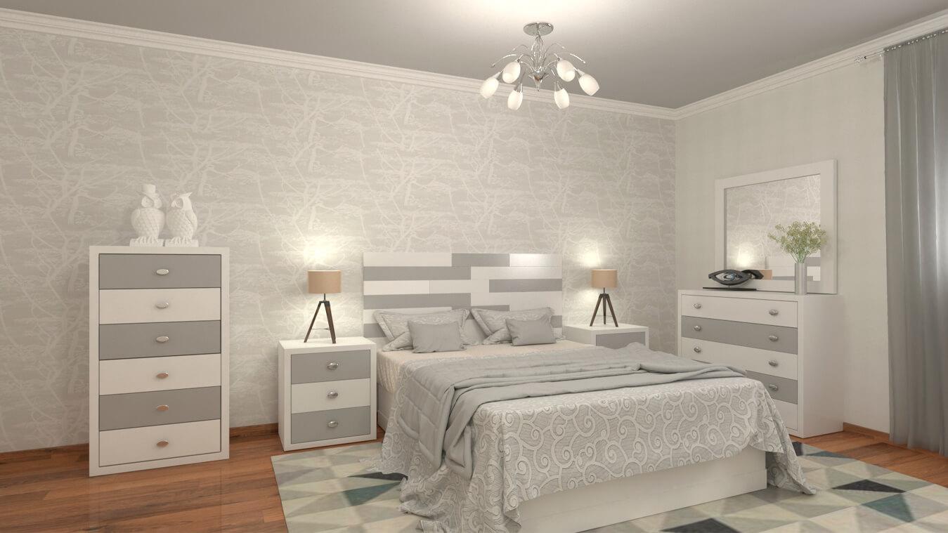 Dormitorio modelo ALVASON - Ref: 0017