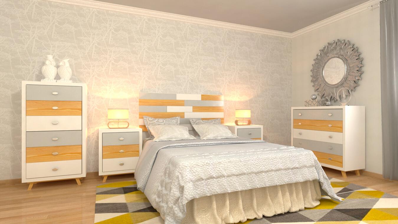 Dormitorio modelo ALVASON - Ref: 0012