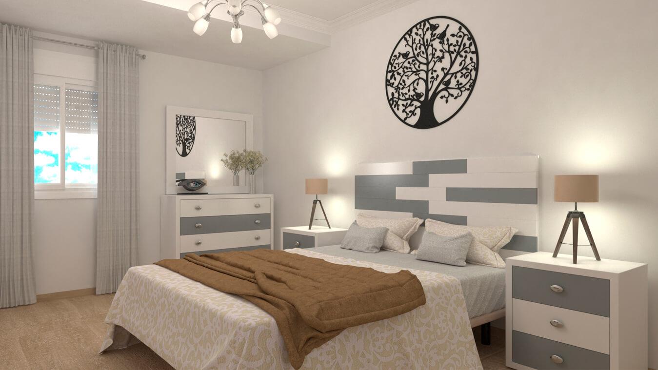 Dormitorio modelo ALVASON - Ref: 0013