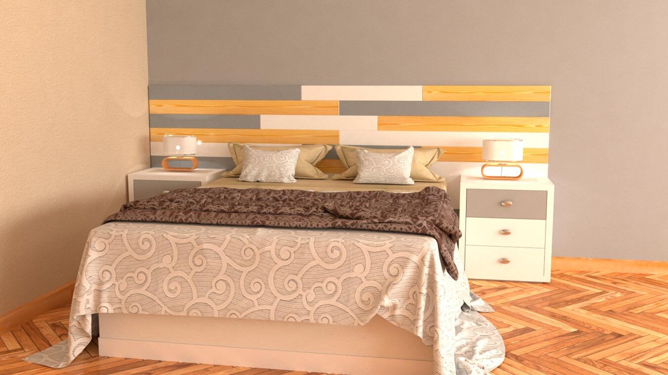 Dormitorio modelo ALVASON - Ref: 0014