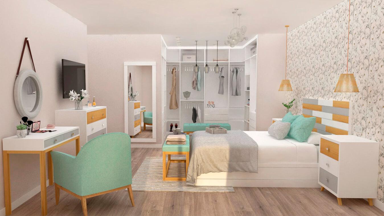 Dormitorio modelo ALVASON - Ref: 0005