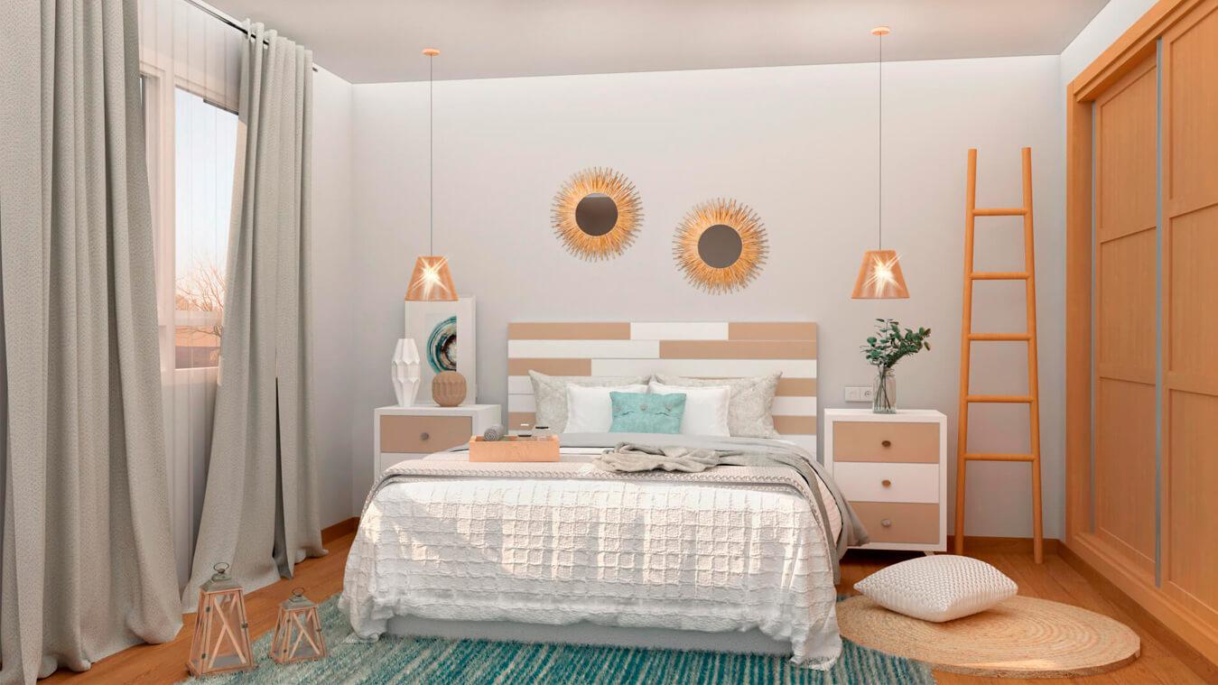 Dormitorio modelo ALVASON - Ref: 0008