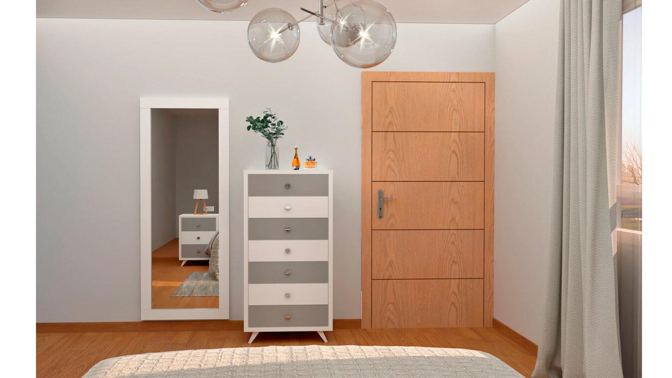 Dormitorio modelo ALVASON - Ref: 0010