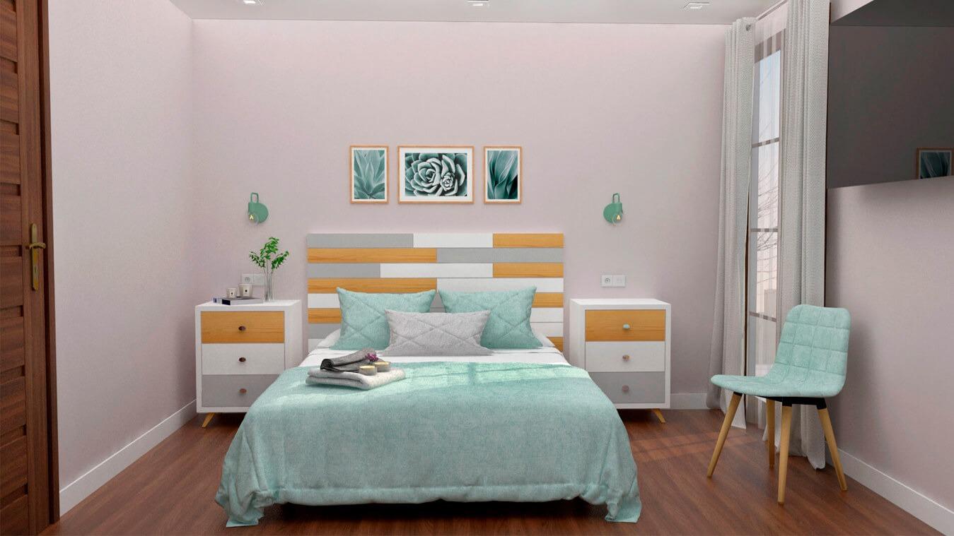 Dormitorio modelo ALVASON - Ref: 0006