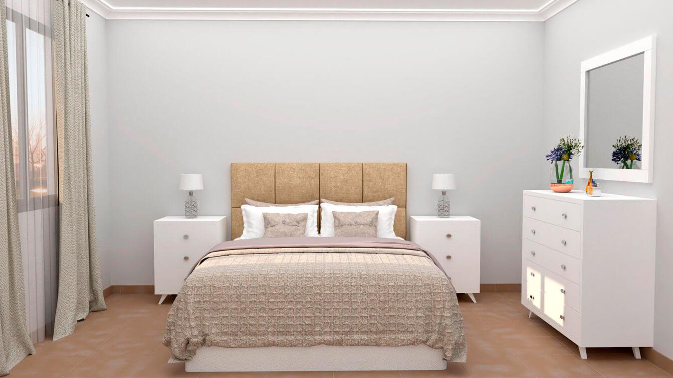 Dormitorio modelo ALVASON - Ref: 0011