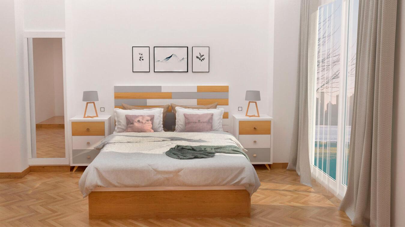 Dormitorio modelo ALVASON - Ref: 0016
