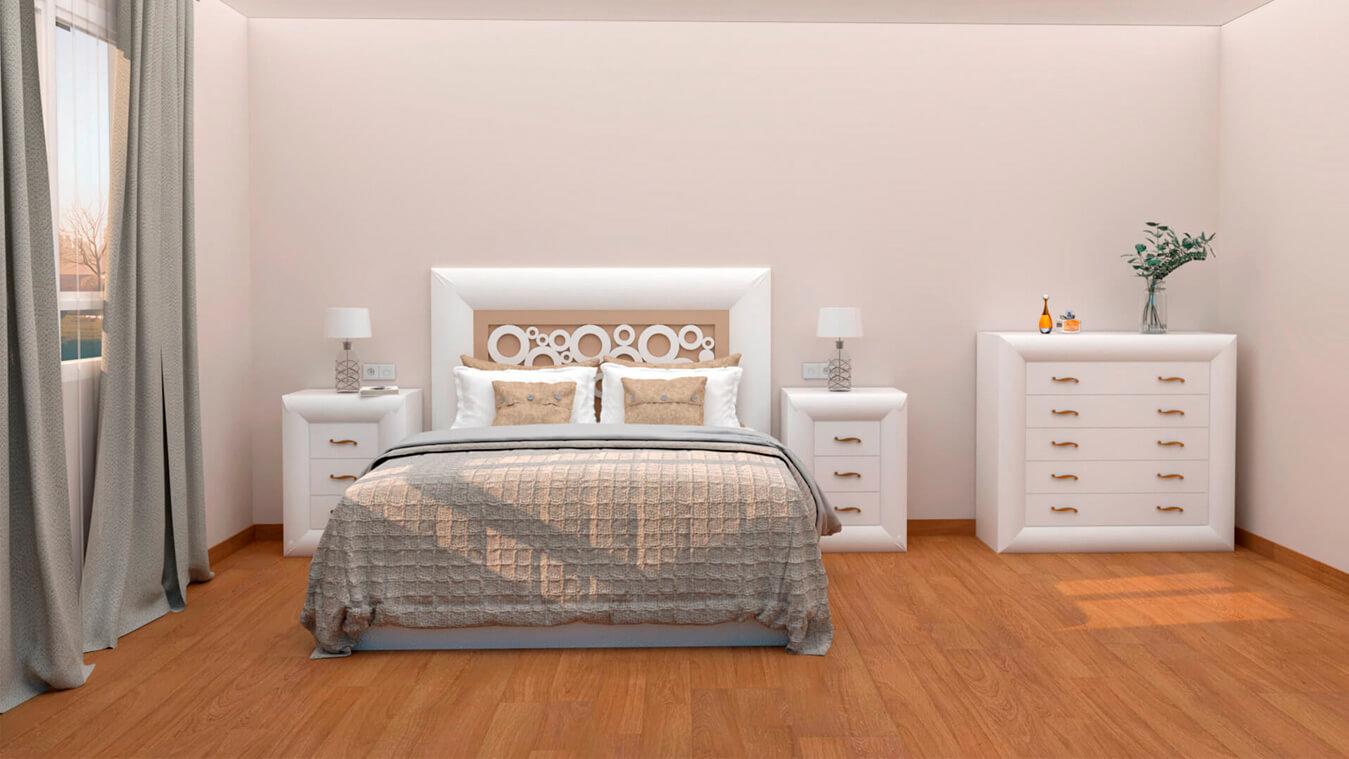 Dormitorio modelo DATAN - Ref: 0001