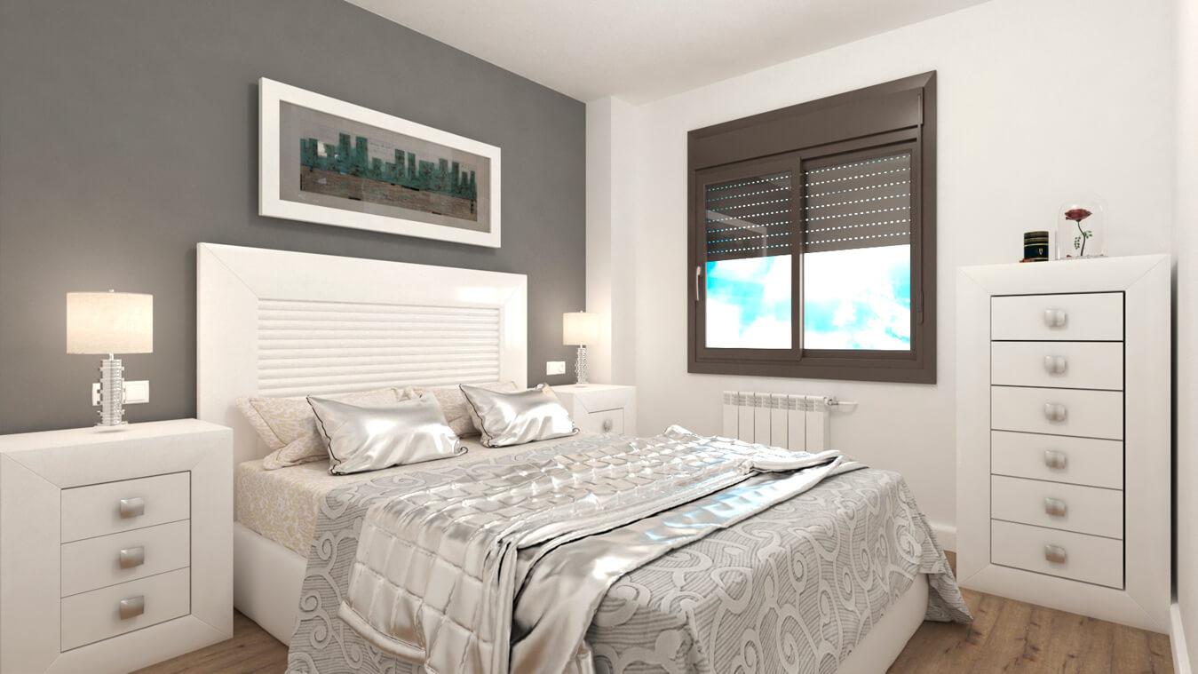 Dormitorio modelo DATAN - Ref: 0002