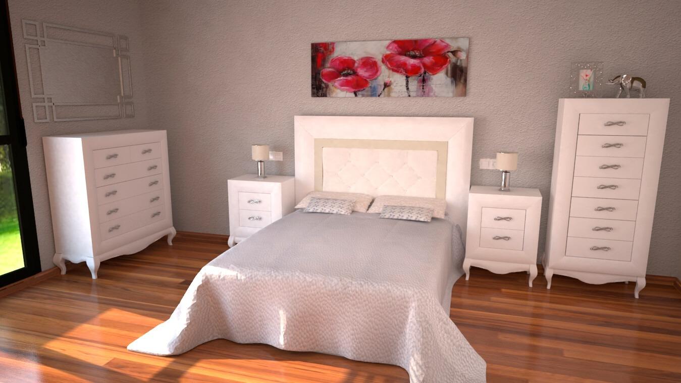 Dormitorio modelo DATAN - Ref: 0011