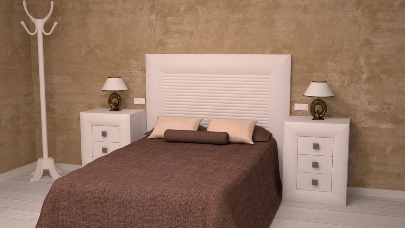 Dormitorio modelo DATAN - Ref: 0012