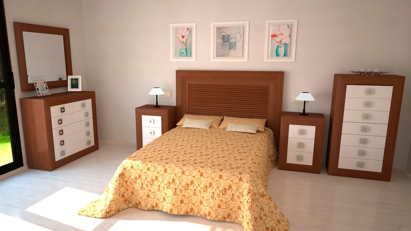 Dormitorio modelo DATAN - Ref: 0014