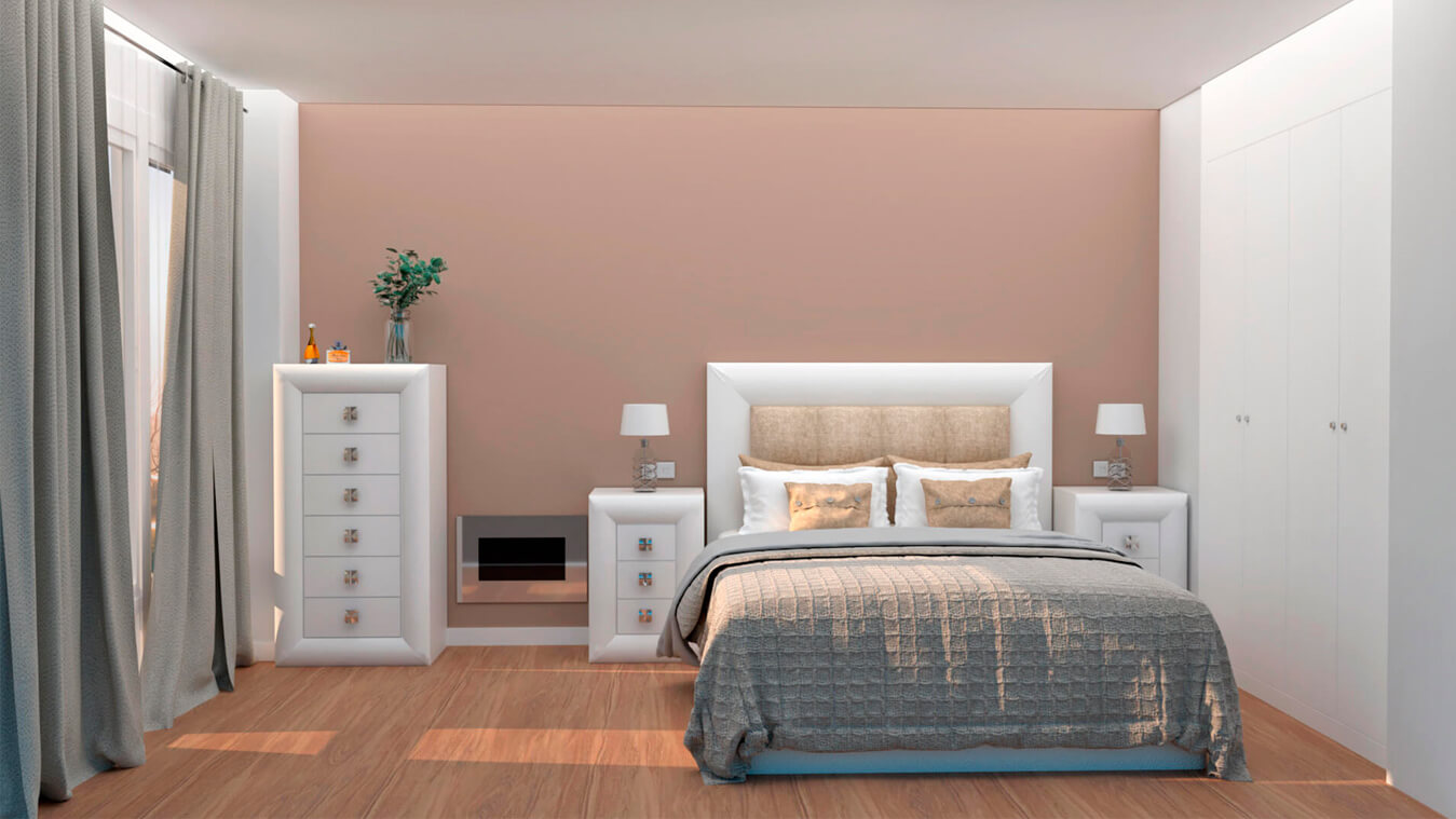 Dormitorio modelo DATAN - Ref: 0010