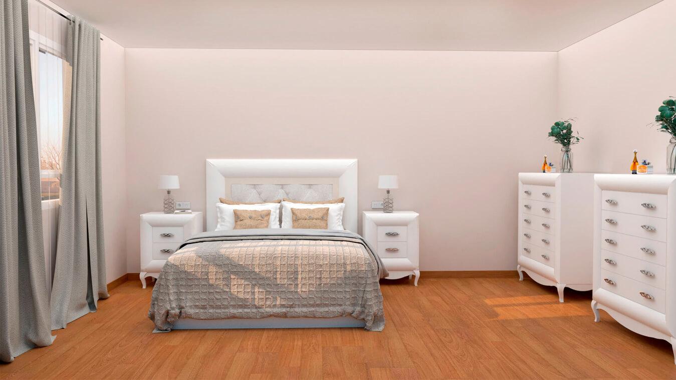 Dormitorio modelo DATAN - Ref: 0003