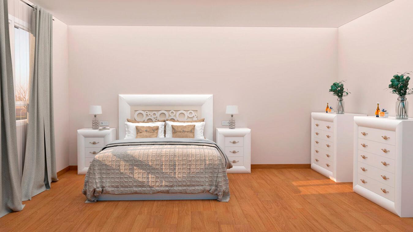 Dormitorio modelo DATAN - Ref: 0004