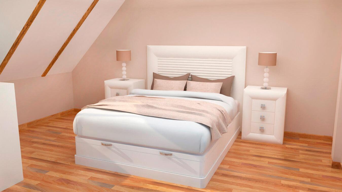 Dormitorio modelo DATAN - Ref: 0005