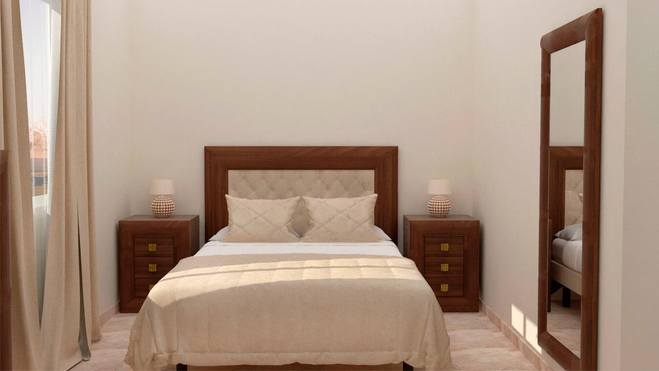 Dormitorio modelo DATAN - Ref: 0006