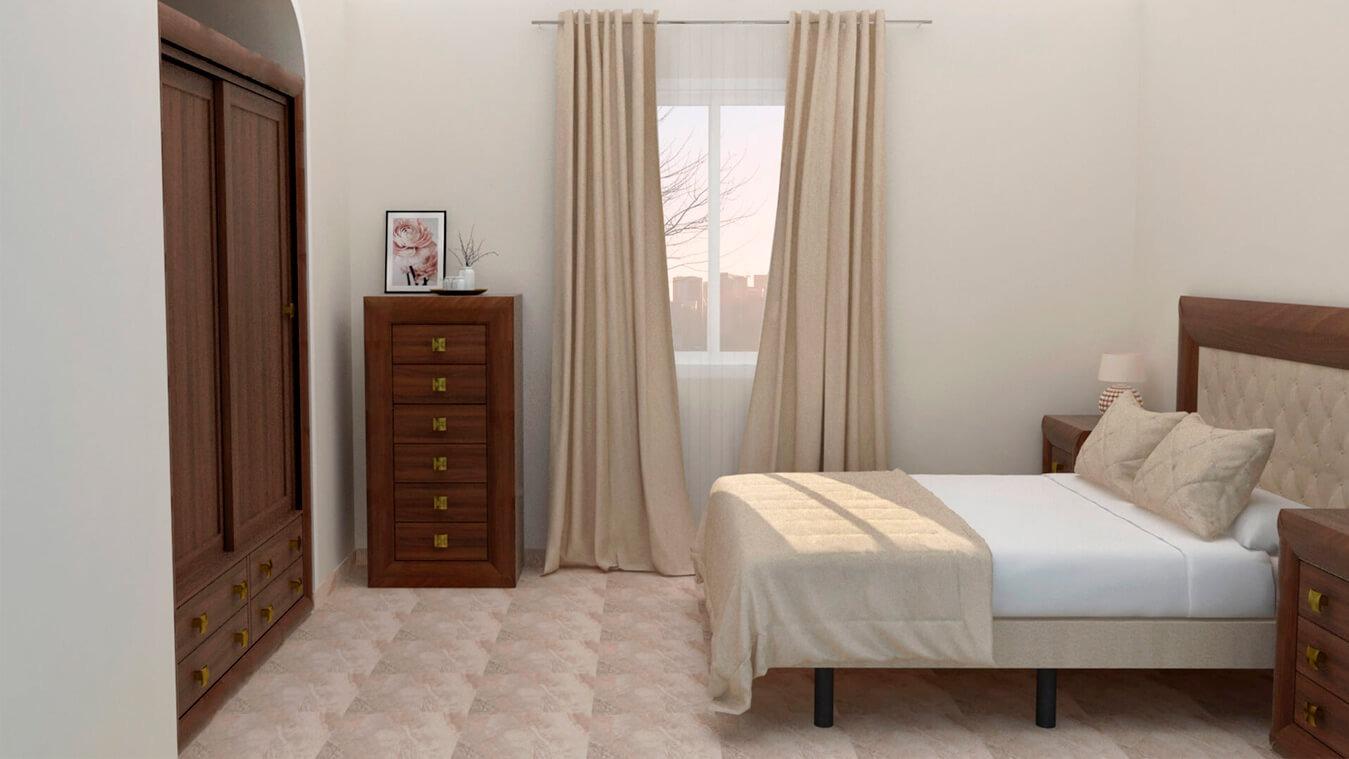 Dormitorio modelo DATAN - Ref: 0007