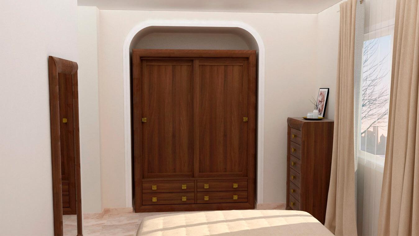 Dormitorio modelo DATAN - Ref: 0008