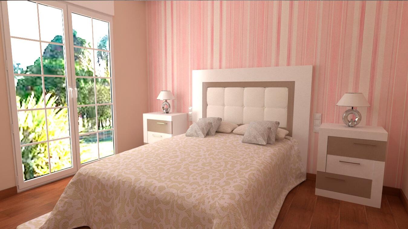 Dormitorio modelo GRANITO DESIGUAL - Ref: 0003