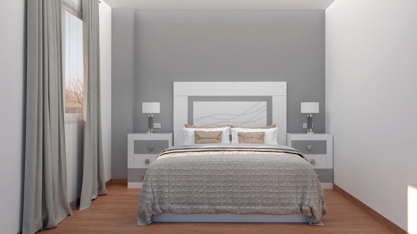 Dormitorio modelo GRANITO DESIGUAL - Ref: 0002