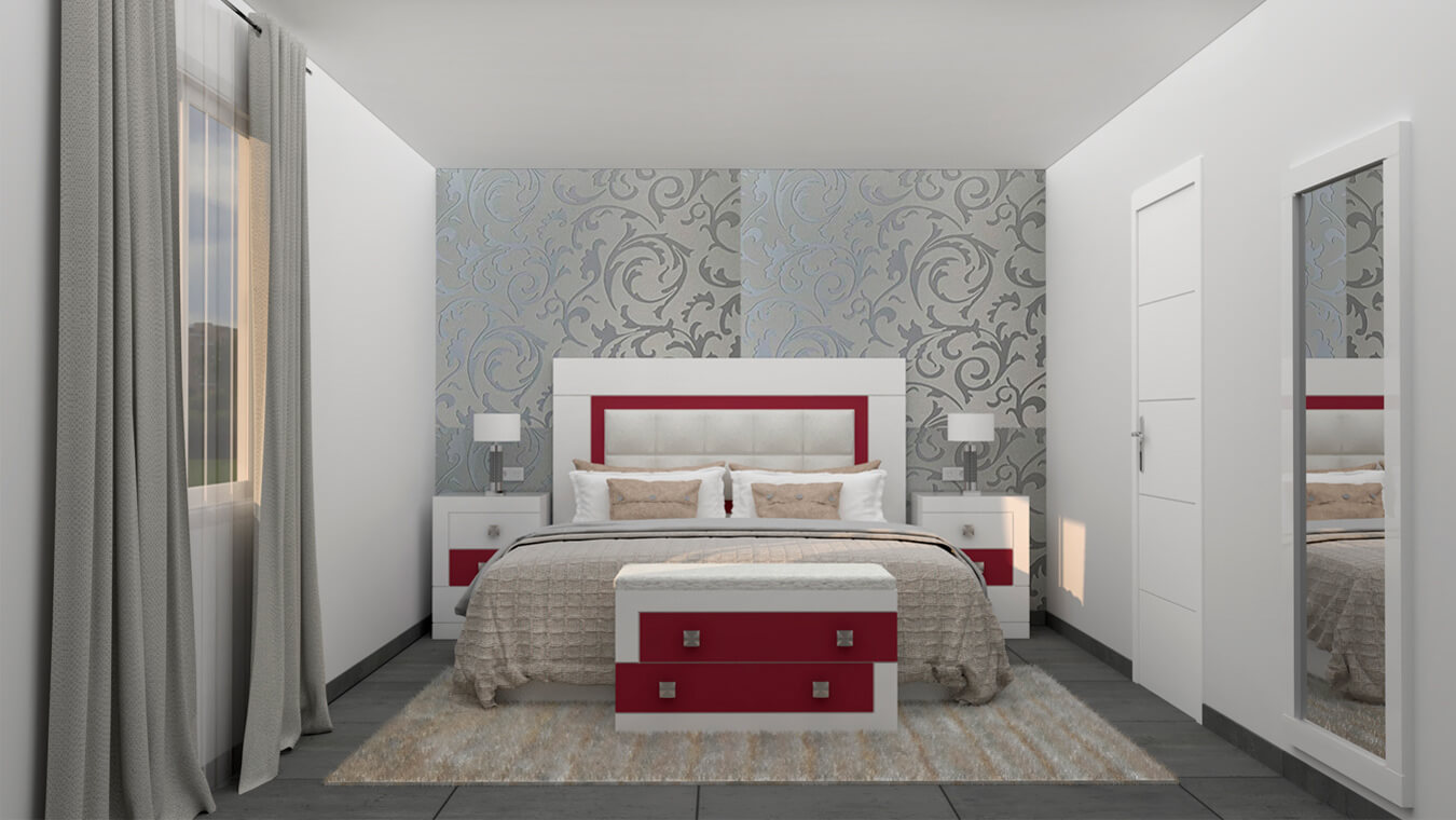 Dormitorio modelo GRANITO DESIGUAL - Ref: 0010