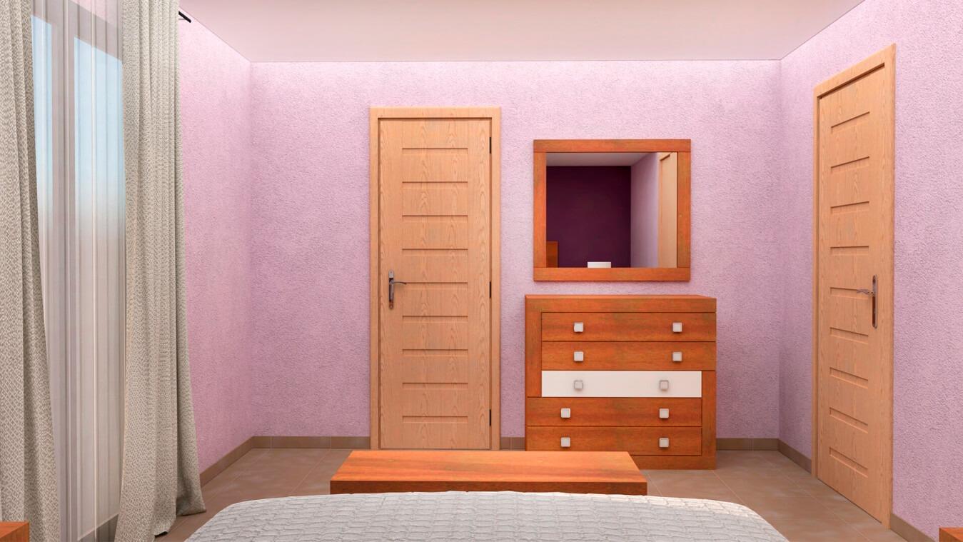 Dormitorio modelo GRANITO DESIGUAL - Ref: 0007