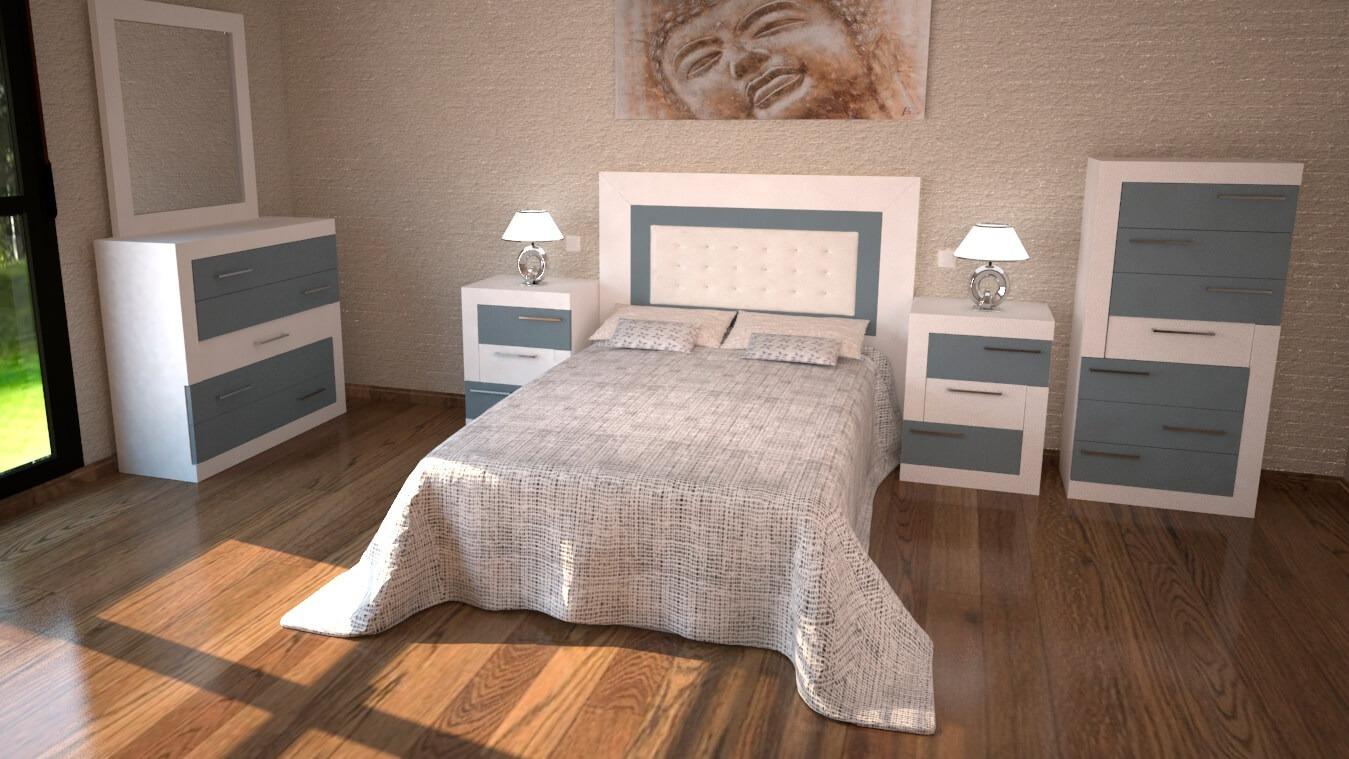 Dormitorio modelo GRANITO DESIGUAL - Ref: 0008