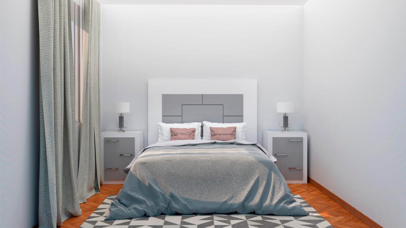 Dormitorio modelo GRANITO NUEVO - Ref: 0003