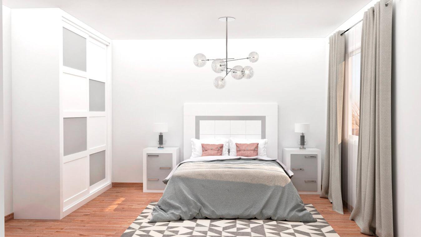 Dormitorio modelo GRANITO NUEVO - Ref: 0006