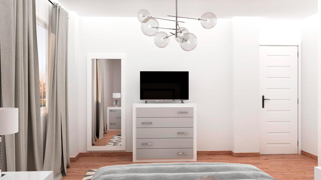 Dormitorio modelo GRANITO NUEVO - Ref: 0007