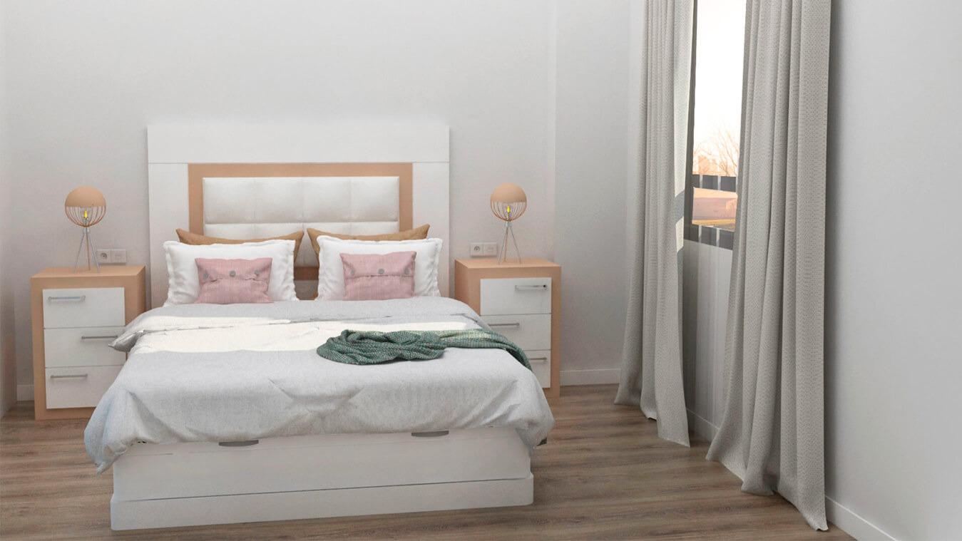 Dormitorio modelo GRANITO NUEVO - Ref: 0008