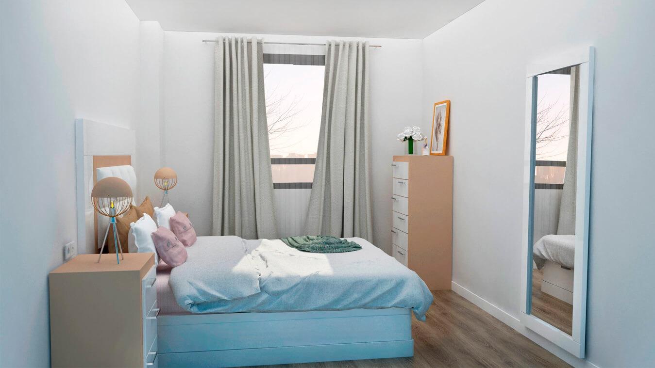 Dormitorio modelo GRANITO NUEVO - Ref: 0009