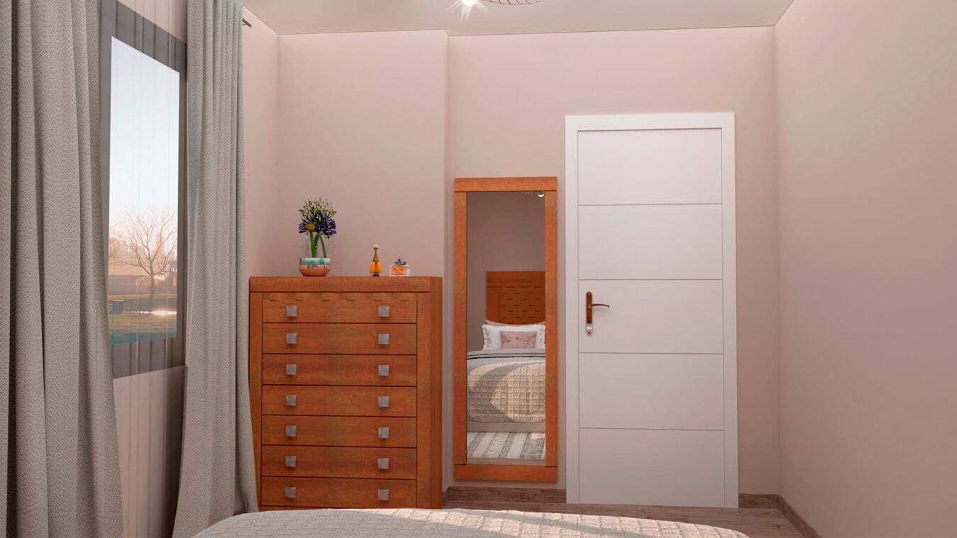 Dormitorio modelo GRANITO OLAS - Ref: 0010