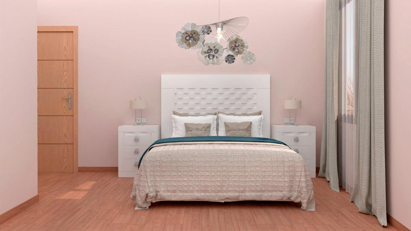 Dormitorio modelo GRANITO OLAS - Ref: 0012
