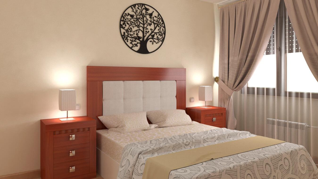 Dormitorio modelo GRANITO OLAS - Ref: 0013