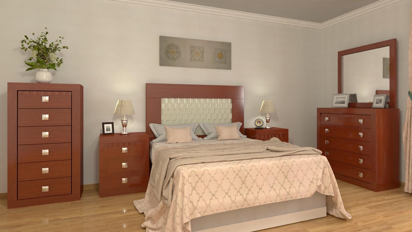Dormitorio modelo GRANITO OLAS - Ref: 0017