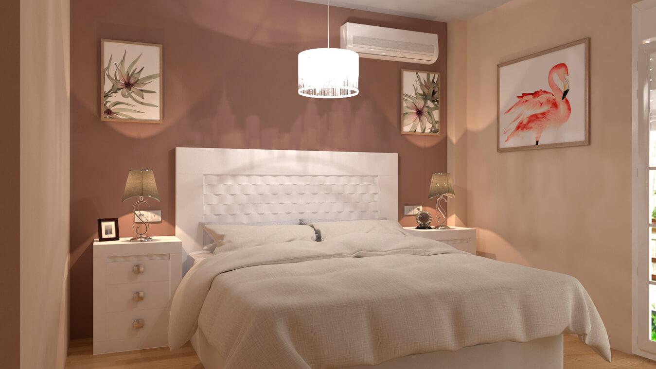 Dormitorio modelo GRANITO OLAS - Ref: 0002