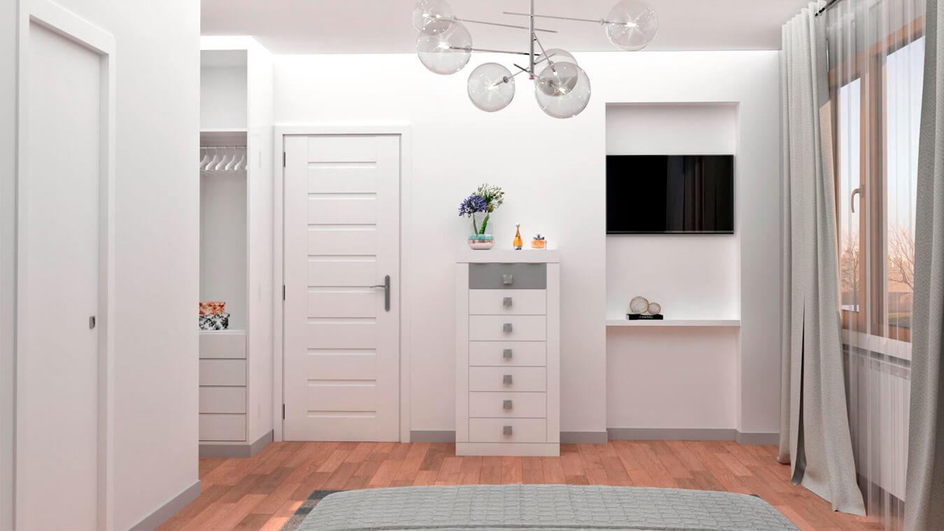 Dormitorio modelo GRANITO OLAS - Ref: 0018